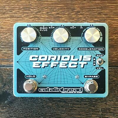 Used Catalinbread Coriolis Effect Sustainer/Wah/Filter/Pitch-Shifter/Harmonizer  • 120.85£