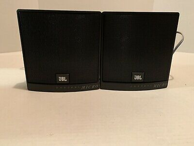 JBL Control Micro Speakers Sold As A Pair - Untested No Return • 17.18£