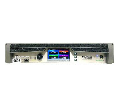 Crown I-tech 4x3500 Hd With Binding Post Version Power Amp #0606 (one) • 3,444.45£