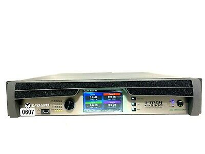 Crown I-tech 4x3500 Hd With Binding Post Version Power Amp #0607 (one) • 3,313.45£