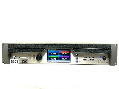 Crown I-tech 4x3500 Hd With Binding Post Version Power Amp #0608 (one) • 3,313.45£