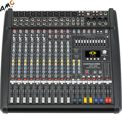 Dynacord CMS III 10-Channel Power Mixer DC-CMS1000-3-MIG • 1,571.46£