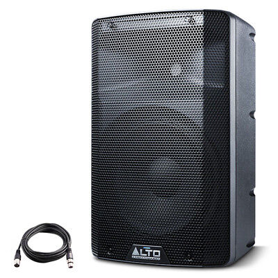 Alto TX210 10  300W Powered Active PA Speaker Or Stage Monitor DJ Band +XLR Lead • 134£