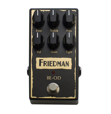 Friedman Amplification BE-OD Overdrive Pedal • 172.48£