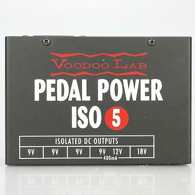 Voodoo Lab Pedal Power ISO 5 Isolated DC Power Supply #39357