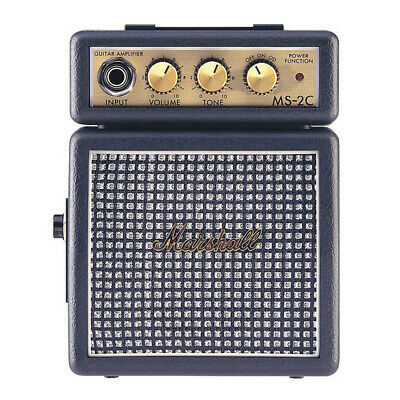 Marshall MS-2 Micro Electric Guitar Amp, Classic (MS2 MS 2c) • 28.99£