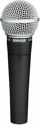 Shure SM58-LC Cardioid Dynamic Vocal Microphone, Black Legendary NEW • 115.89£