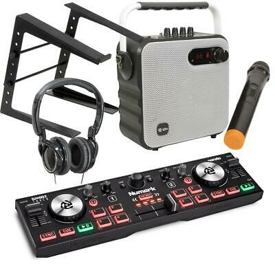 Numark DJ2GO2 Touch Serato DJ Lite Controller With W Party Speaker Mic Pack LT • 149£