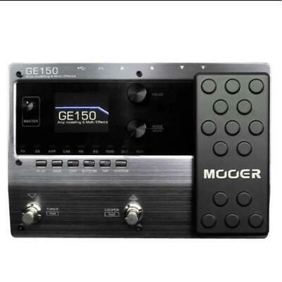 MOOER GE150 Guitar Amp Modelling Multi Effects Pedal Free Ship Arrive  Quickly • 180.39£