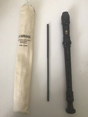 Yamaha YRS-24B Recorder Soprano / Descant Baroque For Beginners • 5£