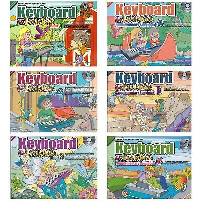 Learn To Play Keyboard Piano For Little Kids & Young Beginners Tutor Lessons H8