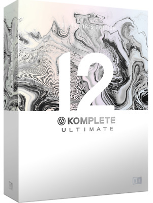 Native Instruments Komplete 12 Ultimate Collectors Edition Upgrade From KU 8-12 • 445£