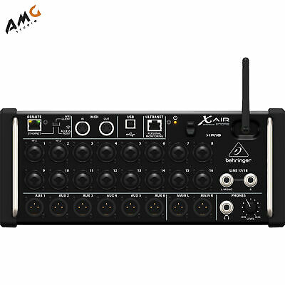 Behringer X Air XR18 18-Input Digital Mixer For IPad/Android Tablets With Wi-Fi • 475.52£