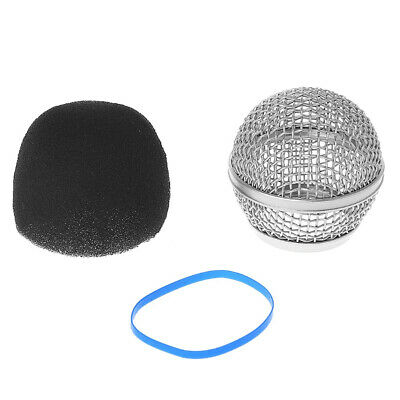 Replacement Ball Head Mesh Microphone Grille Fits For Shure BETA58A • 3.45£