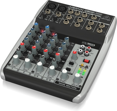Premium 8-Input 2-Bus Mixer With XENYX Mic Preamps • 111.90£