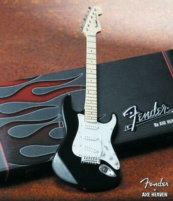 Axe Heaven FS-002 Licensed Fender Stratocaster Classic Black Collectible Guitar • 21.65£
