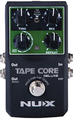 NUX | Tape Core Deluxe Tape Echo Effects Pedal • 70.34£