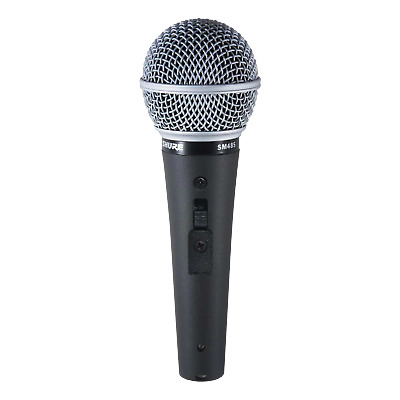 Shure SM48S-LC Cardioid | Dynamic Vocal Microphone • 36.38£