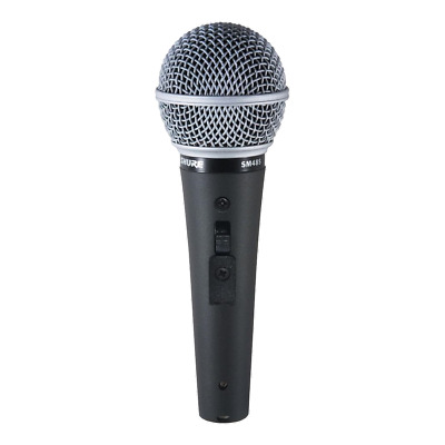 Shure SM48S-LC Cardioid | Dynamic Vocal Microphone • 38.57£