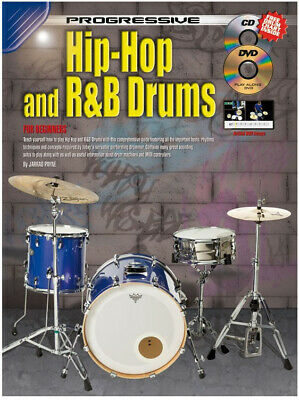 Drums - Learn to Play Hip Hop and RnB Drums Book with CD and DVD