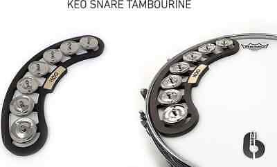 KEO Removable Snare Tambourine With Magnetic Attachment • 39.16£