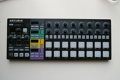 Arturia Beatstep Pro Black Edition Step Sequencer With Leads And Decksaver • 210£