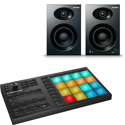 Native Instruments Maschine Mikro MK3 Music Production Tool Elevate 4 Monitors • 279£