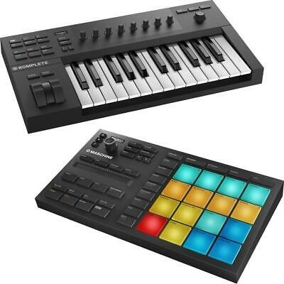 Native Instruments Maschine Mikro MK3 Music Production Inc A25 Keyboard Software • 299£