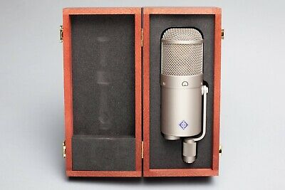 Neumann U47 FET Condenser Microphone Germany MINT Condition FREE SHIPPING #8051 • 3,066.78£