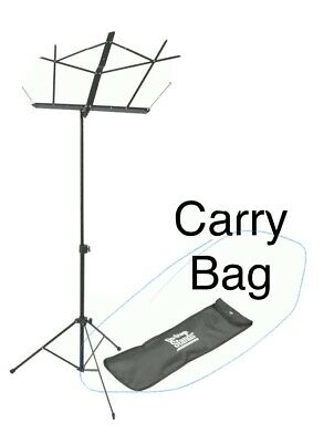 On-Stage SM7122BB Compact Sheet Music Stand (Black, With Bag) $ • 11.11£