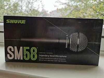 Shure SM58-LC Cardioid Dynamic Vocal Microphone,Black • 85£