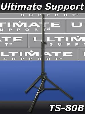 NEW Ultimate Support TS80 TS80B Speaker Stand • 72.92£