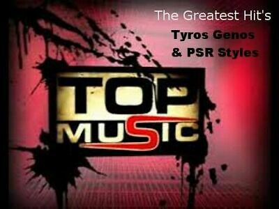 Styles Für YAMAHA GENOS-TYROS-PSR S/SX  The Greatest Hit's  • 31.02£