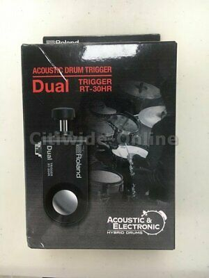 Original New Roland Dual Trigger RT-30HR Acoustic Durm Clearance Sales US*4 • 72.77£