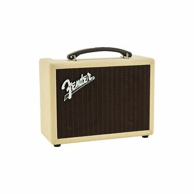 FENDER INDIO BT Blonde Bluetooth Stereo Speaker 60 Watt Power 3.5 Mm Jack Input  • 490£