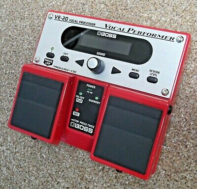 Boss VE-20 Vocal Performer FX Processor Multi-effects Pedal ***REDUCED*** • 170£