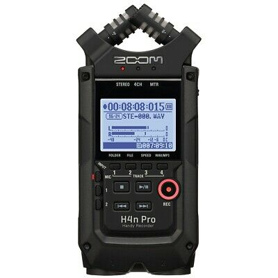 Zoom H4n Pro Black Handy Recorder • 286.80£