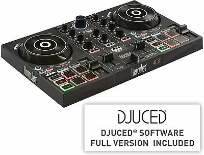 Hercules DJControl Inpulse 200 – DJ Controller With Software Included (B Stock) • 72£
