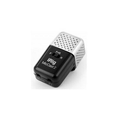 Irig Mic Cast 2 Microphone Registration IPHONE IPAD Android • 64.14£