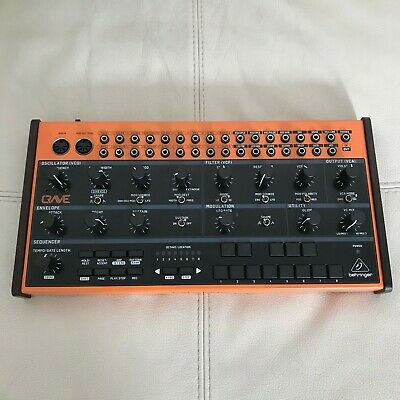 Behringer Crave Semi-Modular Analogue Synthesizer W/ Original Box & Extra Cables • 149£