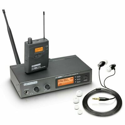 LD Systems MEI 1000 G2 B6 ● UHF In Ear Monitoring System ● 655-679 MHz • 284.84£