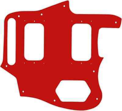 WD Custom Pickguard For Fender Kurt Cobain Signature Series Jaguar #07 Red/Wh... • 32.59£