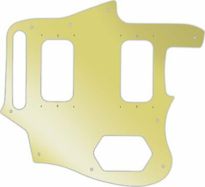 WD Custom Pickguard For Fender Kurt Cobain Signature Series Jaguar #10GD Gold... • 37.03£