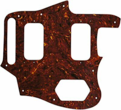 WD Custom Pickguard For Fender Kurt Cobain Signature Series Jaguar #05 Tortoi... • 45.18£