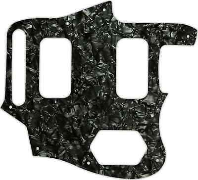 WD Custom Pickguard For Fender Kurt Cobain Signature Series Jaguar #28BK Blac... • 37.03£