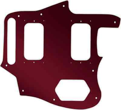 WD Custom Pickguard For Fender Kurt Cobain Signature Series Jaguar #10R Red M... • 37.03£