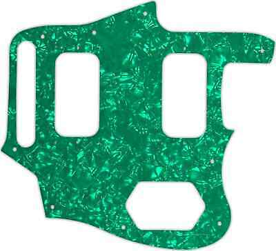 WD Custom Pickguard For Fender Kurt Cobain Signature Series Jaguar #28GR Gree... • 37.03£