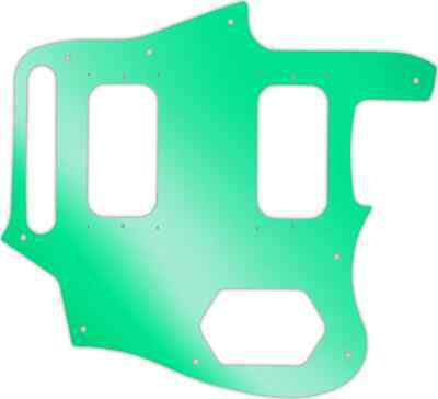 WD Custom Pickguard For Fender Kurt Cobain Signature Series Jaguar #10GR Gree... • 37.03£