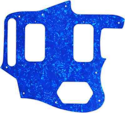 WD Custom Pickguard For Fender Kurt Cobain Signature Series Jaguar #28BU Blue... • 37.03£