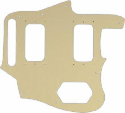 WD Custom Pickguard For Fender Kurt Cobain Signature Series Jaguar #06B Cream... • 28.14£